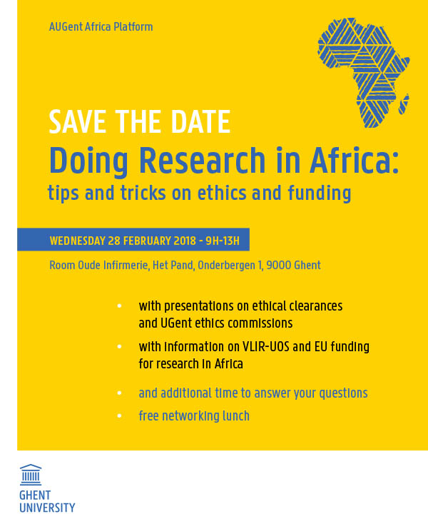 Doing Research in Africa: tips and tricks on ethics and funding